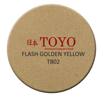 flash golden yellow