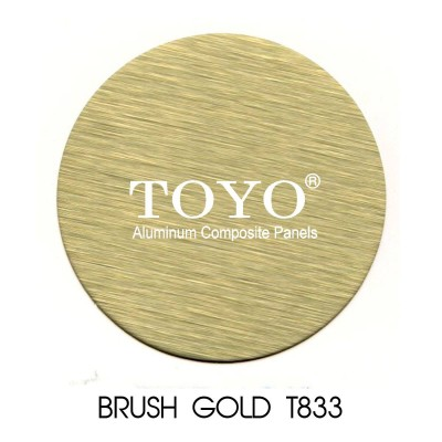 toyo t833 brush gold