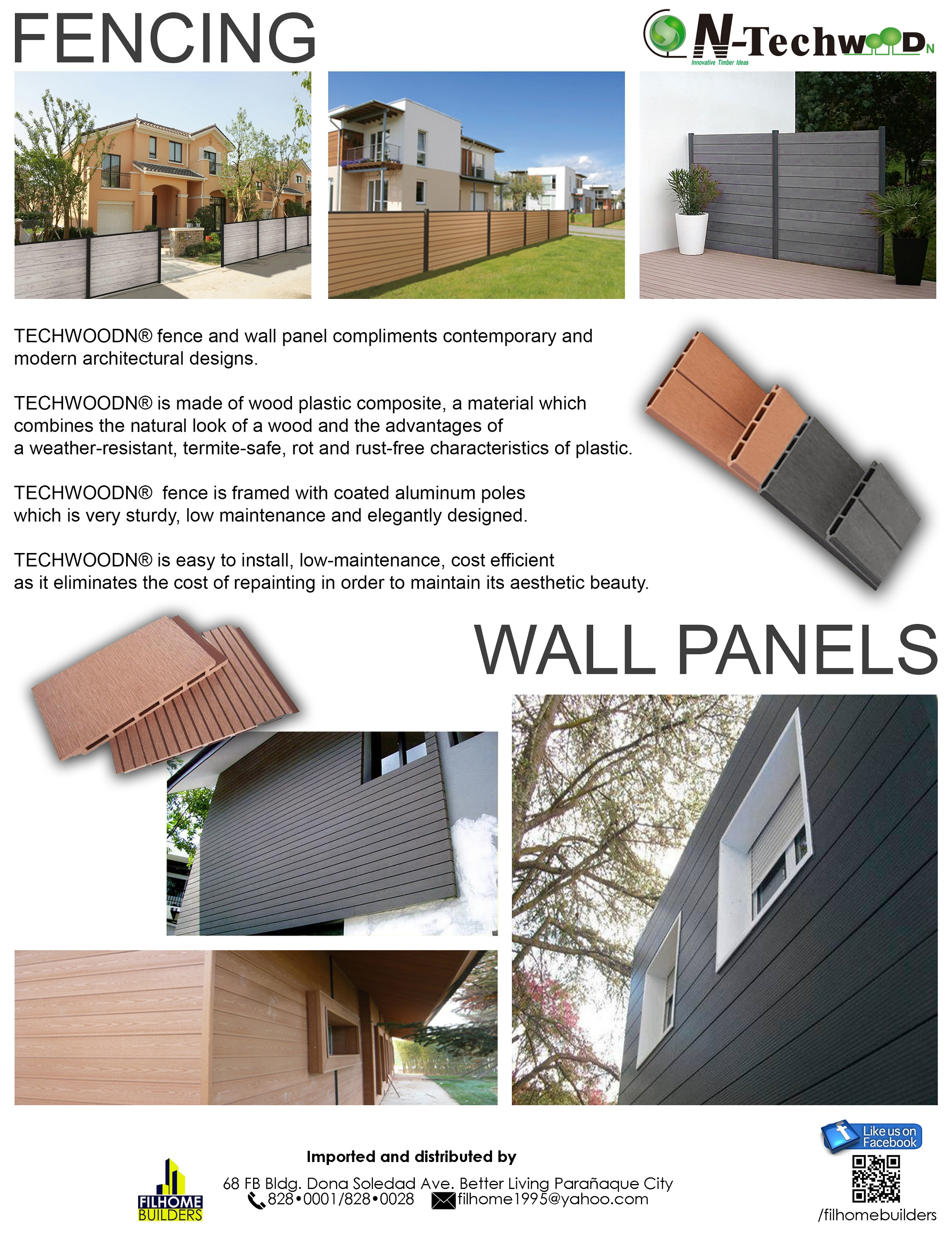 TECHWOOD FENCING & WALL PANELS_copy